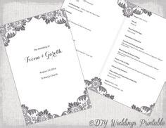 mass booklets templates for weddings 1000 images about wedding programs for nina dawn on