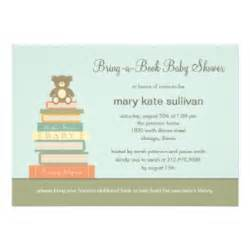bring a book baby shower invitation pink zazzle