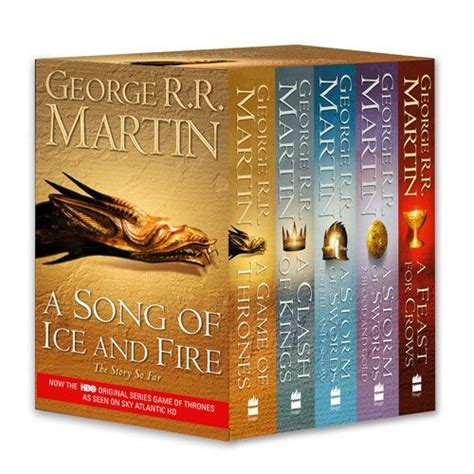 10 book series that aren t a song of and a song of and series george r r martin