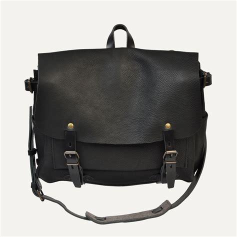 Postman Messenger Leather Bag sac postier eclair m noir postman bag leather