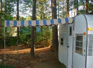 ready made awnings vintage awnings ready to mail pre made vintage cer