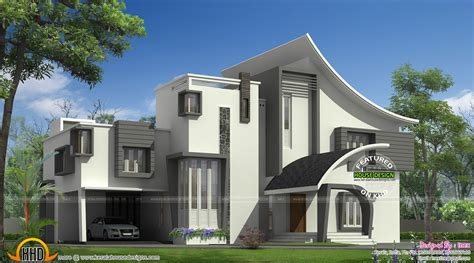contemporary luxury house plans ultra modern luxury home in kerala kerala home design and floor plans