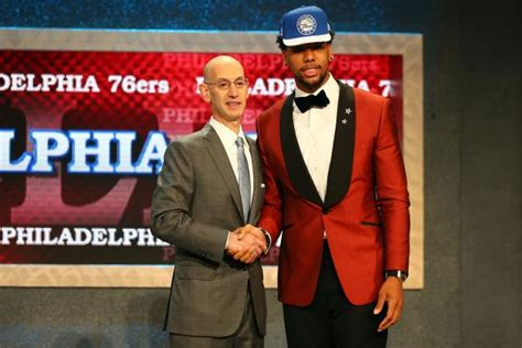 2015 nba mock draft nfl college sports nba and recruiting jahlil okafor to sixers twitter reacts as c is selected