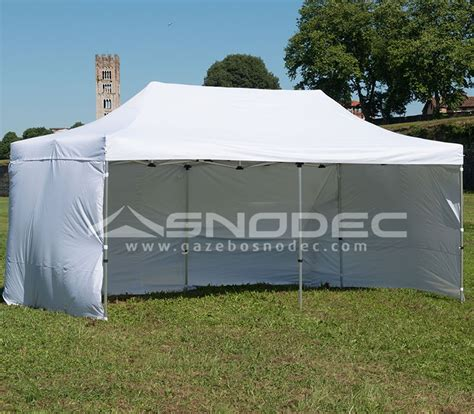 gazebo pieghevoli prezzi gazebo pieghevole 3x6 bianco alluminio 50mm prezzo
