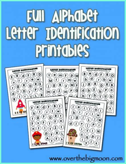 Letter Identification Worksheets by Letter Identification Worksheets Printable Quotes