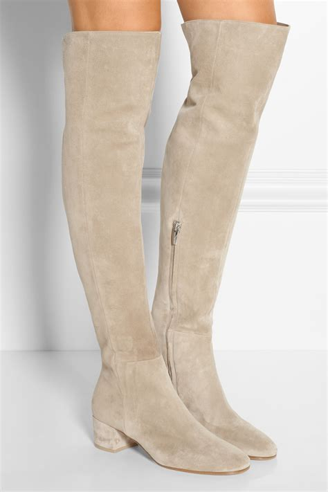 Boots Crem knee high boots color boots image