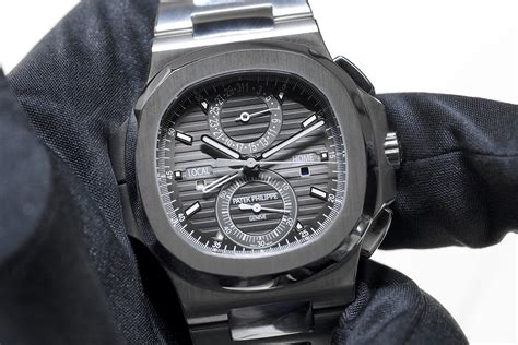 Professional Watches: Hands On with the Patek Philippe Nautilus Chronograph Travel Time 5990A