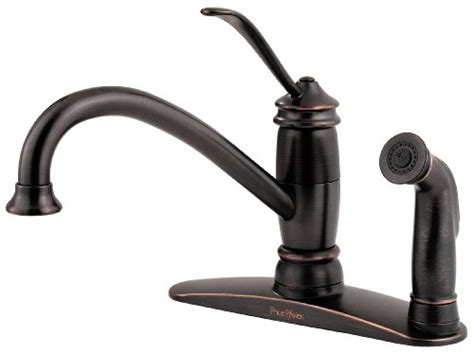 best prices on kitchen faucets buy best cheap price pfister f0343aly brookwood single 3 kitchen faucet tuscan