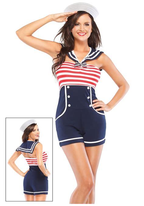 pin up nautical pin up sailor costume