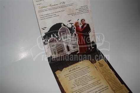 desain undangan pernikahan pop up undangan unik pop up 3d murah raja undangan pernikahan