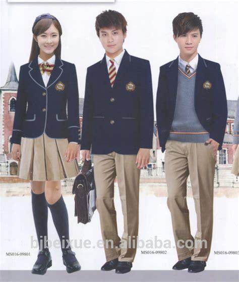 school multiethnic girls different uniform 2016 school uniform pants boys and girls grey pants school