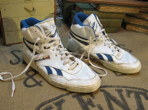 80 s sneakers reebok hi top bb4600 sneakers 80s vintage shoes 12