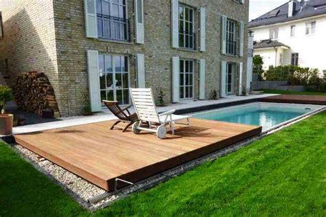 pool selbstbau pool selber bauen kunstrasen garten
