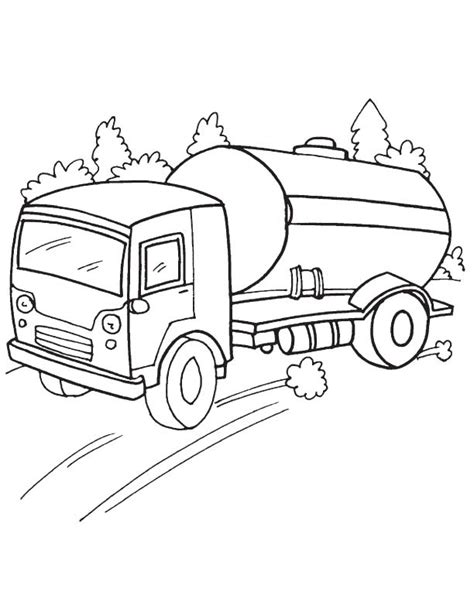 oil truck coloring page speedy oil tanker coloring page download free speedy oil