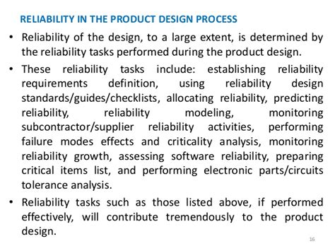 design criteria reliability reliability engineering chapter 1csi