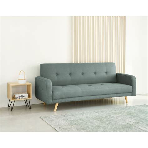 Clic Clac Sofa Bed by Aqua 3 Seater Clic Clac Sofa Bed Broadway Maisons Du Monde