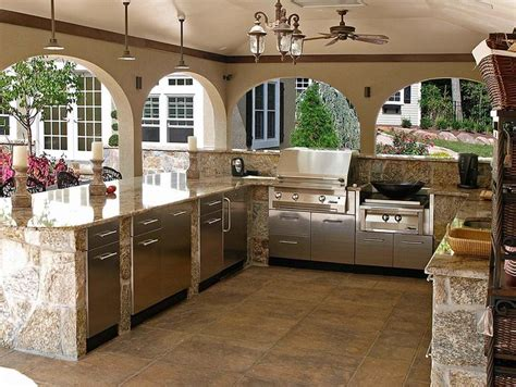 kitchen patio ideas best 10 outdoor kitchen design ideas on pinterest