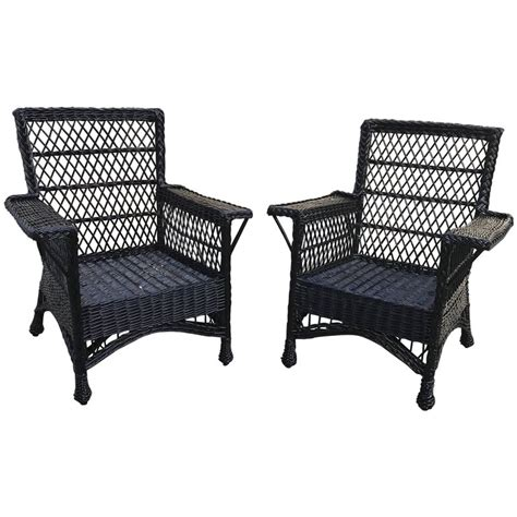 Willow Chairs by Antique Bar Harbor Wicker Willow Chairs For Sale At 1stdibs