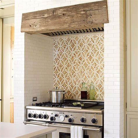 Kitchen Island Extractor Hood Tile Backsplash Ideas For Behind The Range Colonial