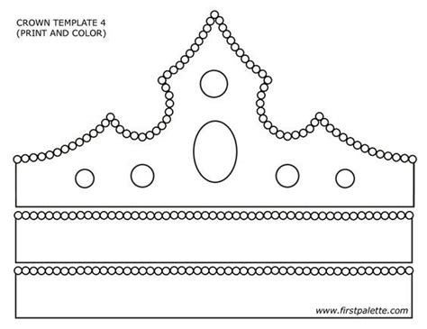 How To Make Crowns Out Of Construction Paper - best 25 crown template ideas on crown