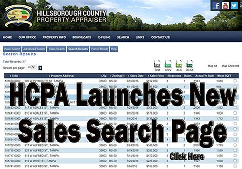 Hcpafl Org Search Property Records Hillsborough County Property Appraiser Gt Home