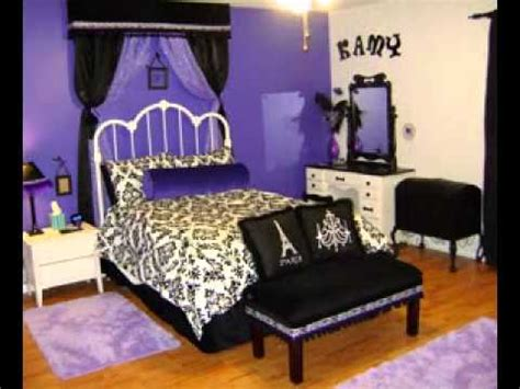 lavender and black bedroom easy diy purple and black bedroom design ideas youtube
