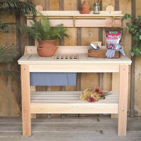 plant potting bench amusing potting bench design with sink ideas exterior