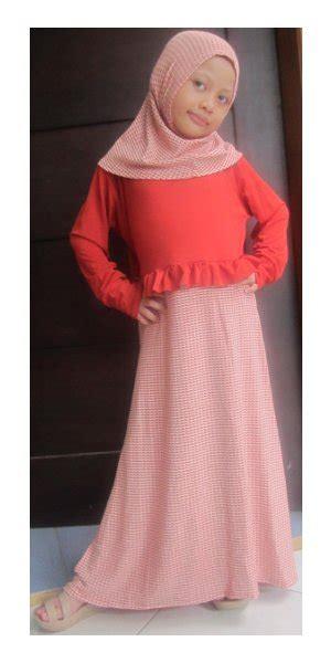 Baju Anak Saffron Rempel Pink Size 6 gamis rempel rajut gfn131