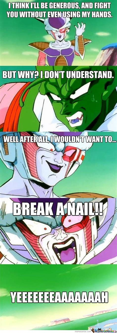 Frieza Memes - frieza nailed that pun by recyclebin meme center