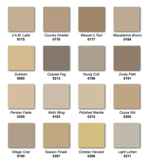 favorite popular best selling shades of brown paint top selling hirshfield s paint colors hirshfield s color