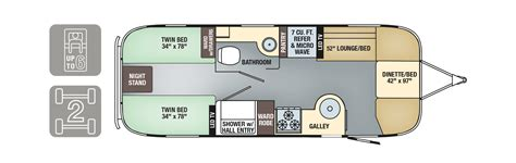 airstream travel trailer floor plans airstream floor plans the vintage airstream 20 foot travel