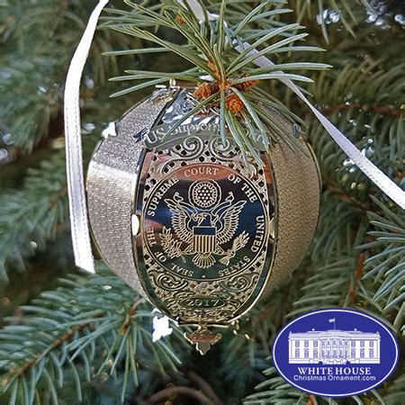 1980 white house christmas ornament 2017 united states supreme court ornament