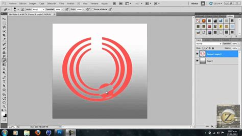 tutorial photoshop cs5 como hacer un logo como hacer un logo profesional en photoshop cs5 hd youtube
