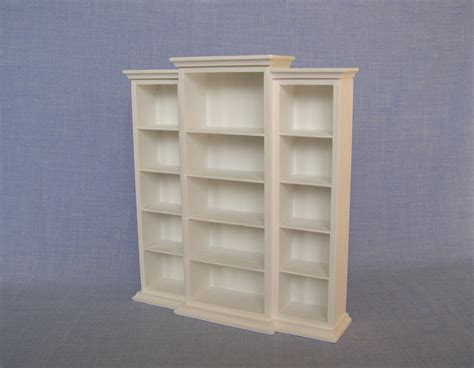 bookcase display cabinet for dolls 1 6 scale shelves for 12