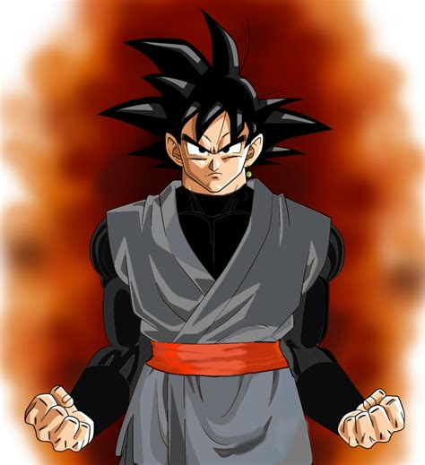 imagenes reales dragon ball black goku aaura dragon ball super by tiger14deviantart on