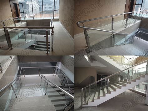 glass banister cost interior glass railing systems design stair glass railing