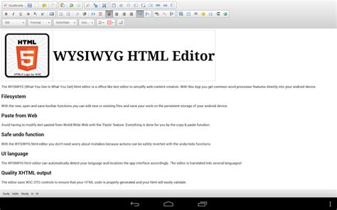 html viewer for android wysiwyg html editor apk for android aptoide