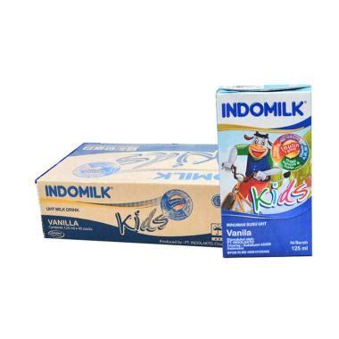 Indomilk Uht Strawberry 190ml jual produk indomilk terlengkap terbaru oktober 2018