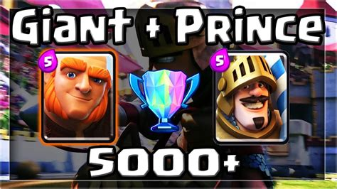 clash royale best prince deck and strategy for arena 7 8 9 tips guides and
