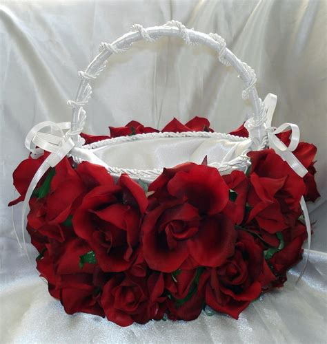 wedding flower basket bridal flower basket flower ideas