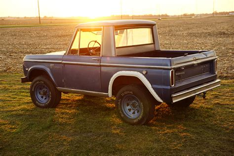 the known 1966 ford bronco prototype re emerges