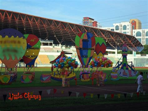 Sports Day Decoration by Sports And Concert Day 2011 Chumsy S