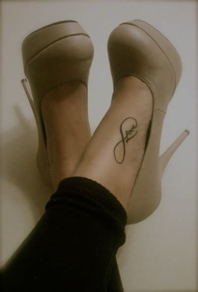 Infinity Tattoo Placement | infinity tattoo love the placement yes yes i do want a