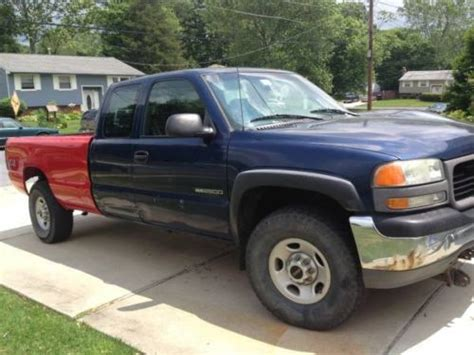 car maintenance manuals 2000 gmc sierra 2500 security system find used 2000 gmc sierra 2500 sl 4x4 in clementon new jersey united states for us 4 500 00