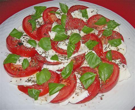 Tomate Mozzarella Schön Anrichten by Tomaten Mozzarella Salat Rezept Mit Bild Maybe