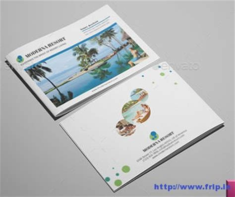 brochure template resort 10 best resort brochure print templates 2016 frip in