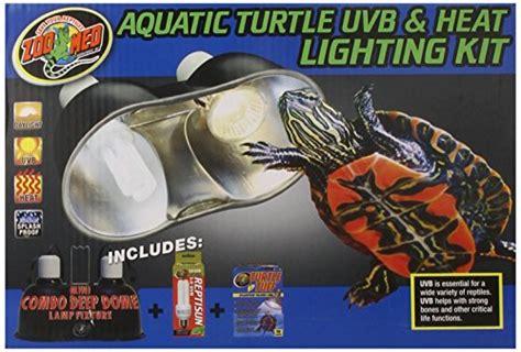uvb light for turtles zoo med aquatic turtle uvb and heat lighting kit