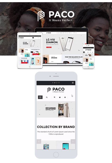 theme wordpress electronic paco responsive woocommerce wordpress digital theme