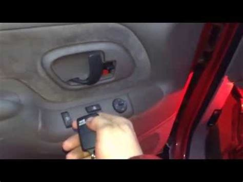 how to program a keyless entry remote fob for gm truck