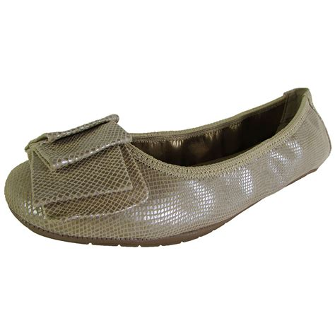 me flat shoes me womens lilyana leather ballet flat shoe ebay